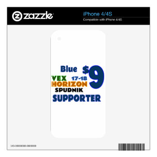 Blue ($9) iPhone 4S skin
