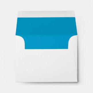 Blue A2 Envelope