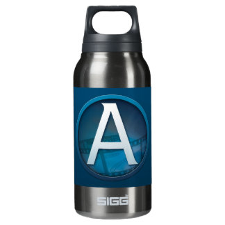 Blue A - Thermos Bottle