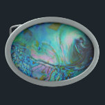 "Blue Abalone Shell Belt Buckle<br><div class=""desc"">Exceptional photo of museum quality blue abalone shell.</div>"