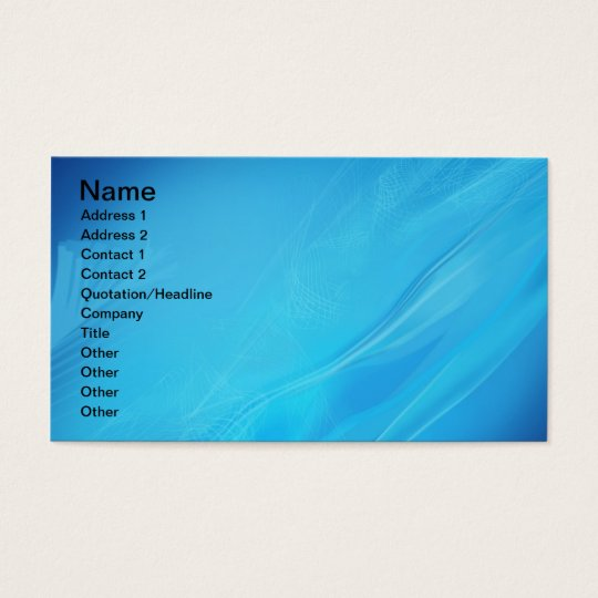 blue_abstract_2-1920x1200 ABSTRACT BLUE OCEAN UNDE Business Card