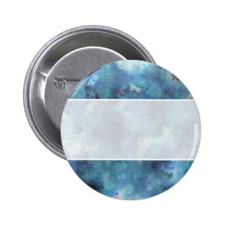 Blue Abstract. 2 Inch Round Button