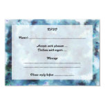 "Blue Abstract. 3.5"" X 5"" Invitation Card"