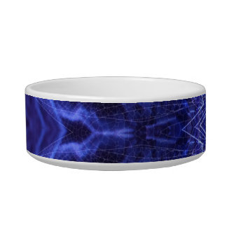Blue Abstract Ancient Art Bowl