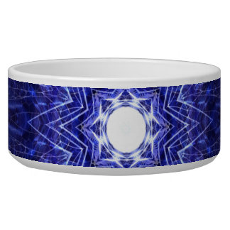 Blue Abstract Ancient Art Bowl