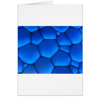 Blue Abstract Art Card