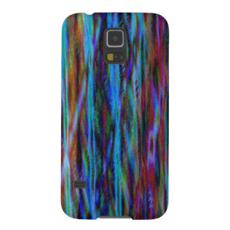 Blue Abstract Art Galaxy S5 Cover