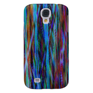 Blue Abstract Art Galaxy S4 Cover