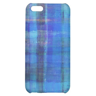 Blue Abstract Art iPhone 5C Covers