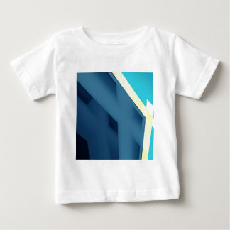 Blue Abstract Baby T-Shirt
