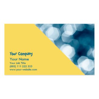Blue abstract background business card