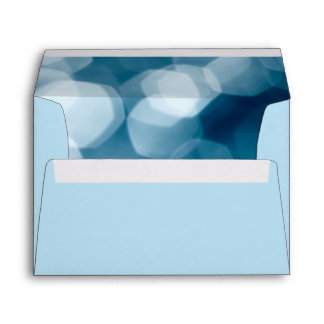 Blue abstract background envelope