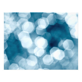 Blue abstract background flyer