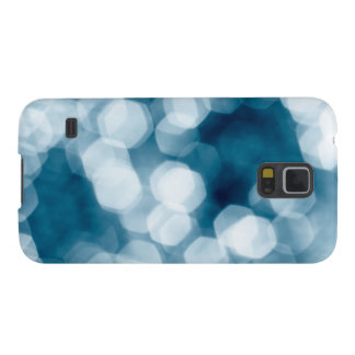 Blue abstract background galaxy s5 cover