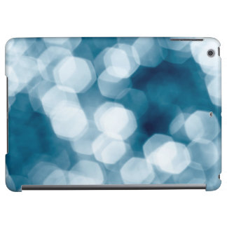 Blue abstract background iPad air covers