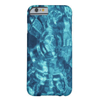 Blue Abstract Barely There iPhone 6 Case