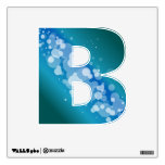 Blue Abstract Bubble - B Room Stickers