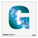 Blue Abstract Bubble - G Wall Graphic