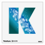 Blue Abstract Bubble -K Wall Sticker