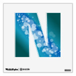 Blue Abstract Bubble - N Room Sticker