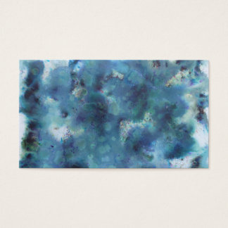 Blue Abstract. Business Card