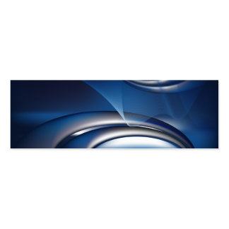 blue abstract business notebook-01 Double-Sided mini business cards (Pack of 20)