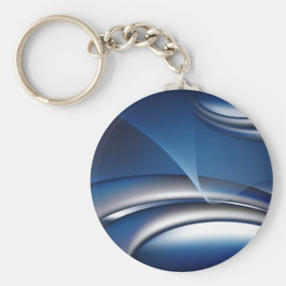 blue abstract business notebook-01 keychain