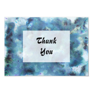 Blue Abstract. Card