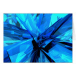 Blue Abstract Cards