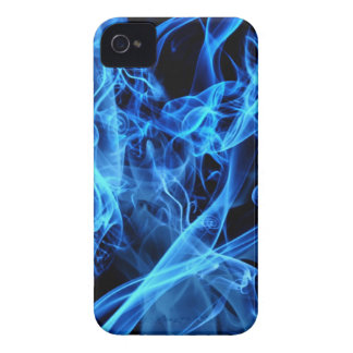 Blue Abstract iPhone 4 Case-Mate Case