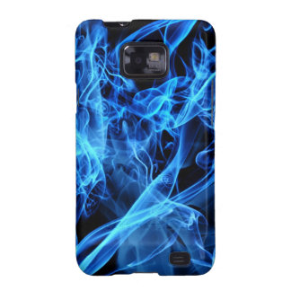 Blue Abstract Samsung Galaxy S2 Covers