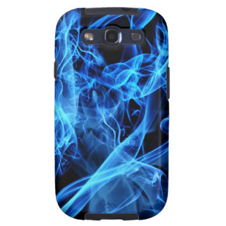 Blue Abstract Galaxy S3 Cover