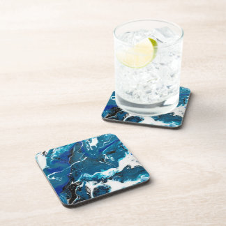Blue Abstract Coasters (set of 6)