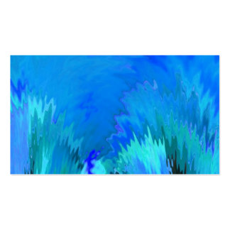 Blue Abstract Create Your Own Business Card