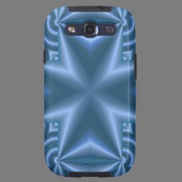 Blue abstract cross galaxy SIII cases