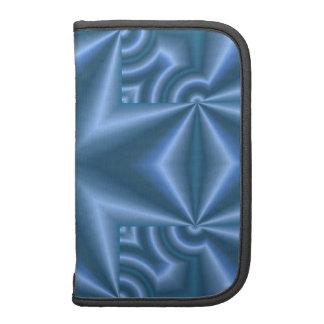 Blue abstract cross organizer