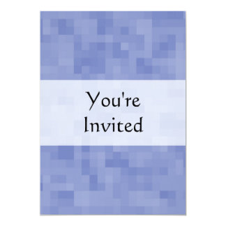 Blue Abstract Design. 5x7 Paper Invitation Card