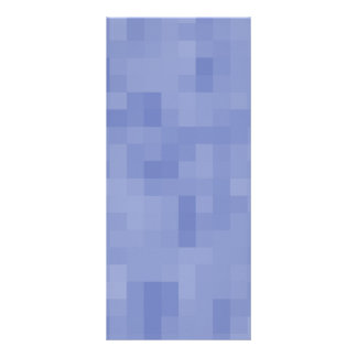 Blue Abstract Design. Full Color Rack Card