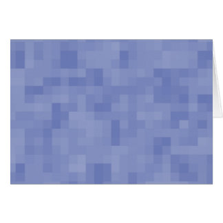 Blue Abstract Design. Greeting Card