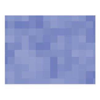 Blue Abstract Design. Postcard
