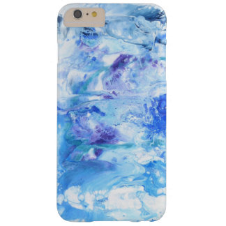 Blue Abstract Detail Barely There iPhone 6 Plus Case