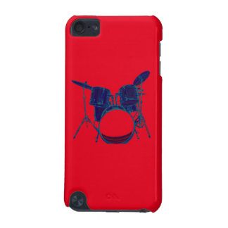 Blue Abstract Drum Set Phone Case iPod Touch 5G Case