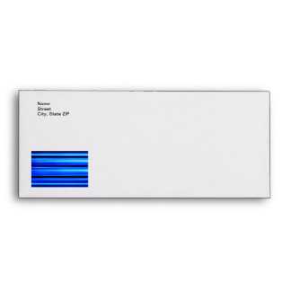 Blue Abstract Envelopes