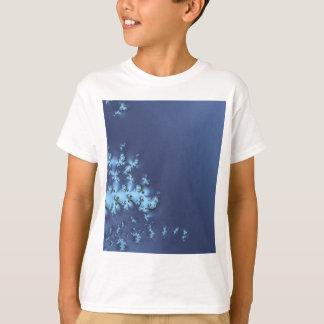 Blue Abstract Futuristic Space Cosmic Design Illus T-Shirt
