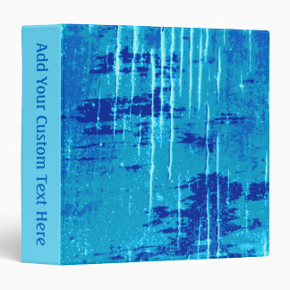 Blue Abstract Graphic. Binder
