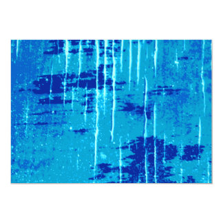 Blue Abstract Graphic. Card