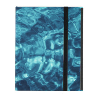 Blue Abstract iPad Folio Cases