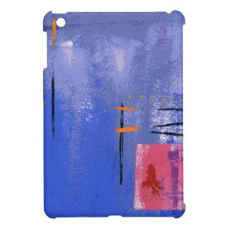 Blue Abstract iPad Mini Case