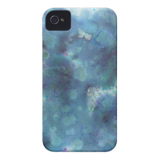 Blue Abstract. iPhone 4 Cover