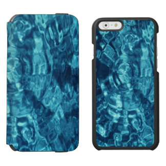 Blue Abstract iPhone 6/6s Wallet Case
